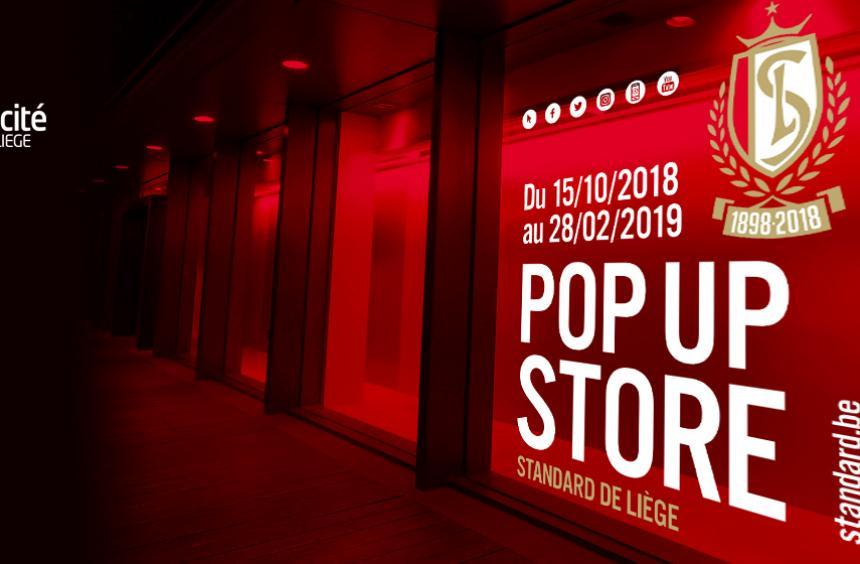 Réouverture de notre Pop-up store à Médiacité de Liège