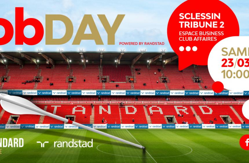 Votre prochain job grâce à Randstad et au Standard de Liège ?
