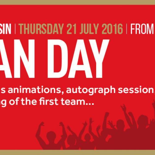 Fan Day 2016