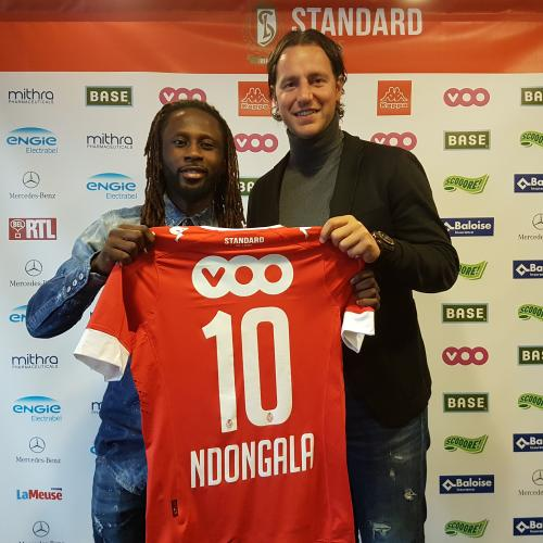 """Dieumerci NDONGALA joins the """"Rouches"""""""