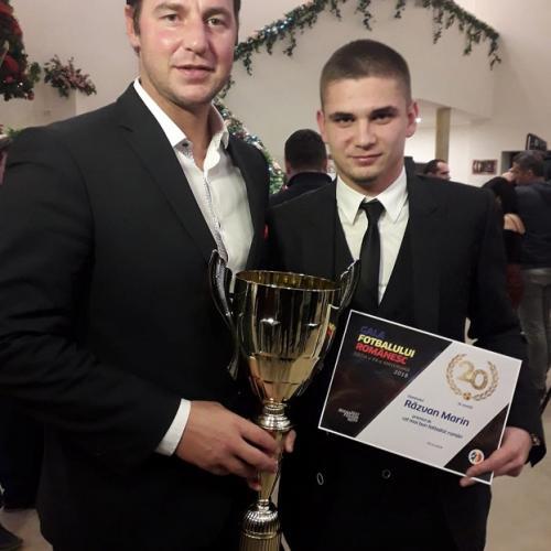 Razvan MARIN récompensé en Roumanie