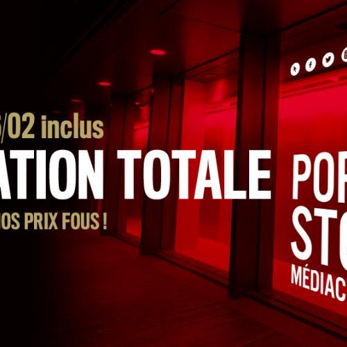 Pop Up Store : liquidation totale