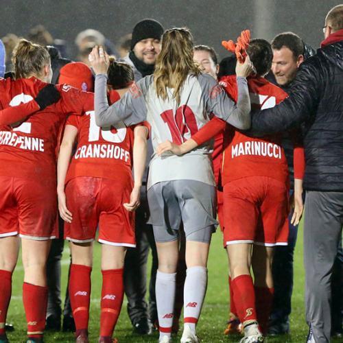 Victoire 1-0 de nos filles contre Gand