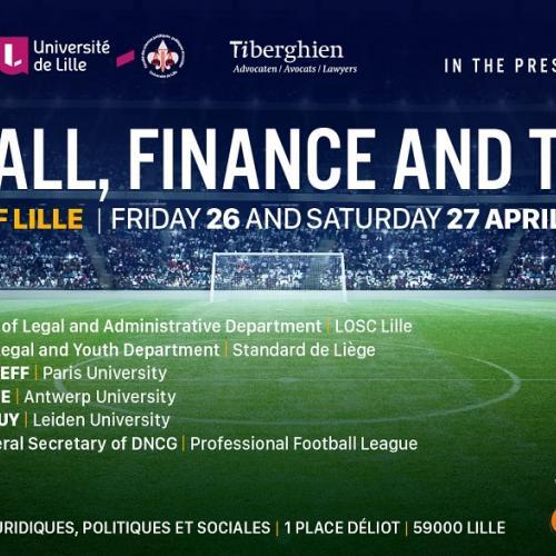 """2ème édition de """"Football, Finance and the Law"""""""