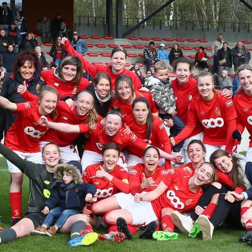 Nos filles en finale de la Coupe de Belgique !