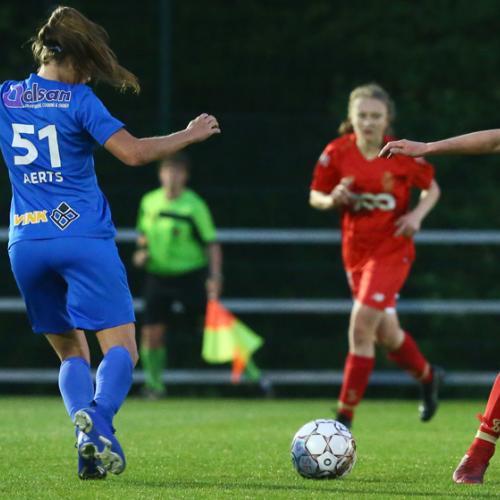 Victoire de nos filles 4-1 contre Genk