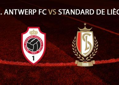 Point infos R. Antwerp FC - Standard de Liège