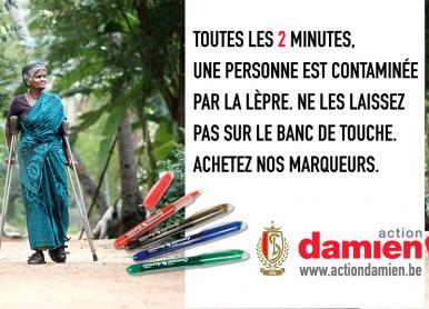 Le Standard soutient l'Action Damien
