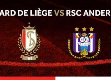 Standard de Liège – RSC Anderlecht : Infos Ticketing !