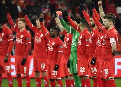 Match Standard-Eupen : campagne contre le racisme et pour le fair-play envers tous