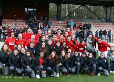 Standard Section Féminine - KRC Genk (1/2 finale Coupe de Belgique)