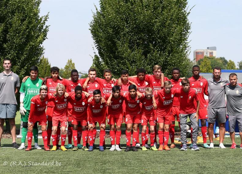 Match amical Standard U15 VS FC Seraing U17