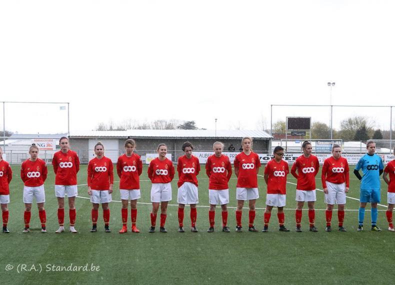 Yellow Flames U16 - Standard Section Féminine U16 (1/2 Coupe de Belgique)