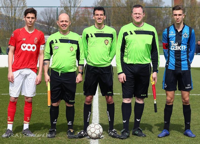 Standard de Liège U16 - Club Brugge U16